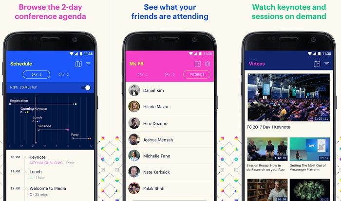 F8 Facebook app
