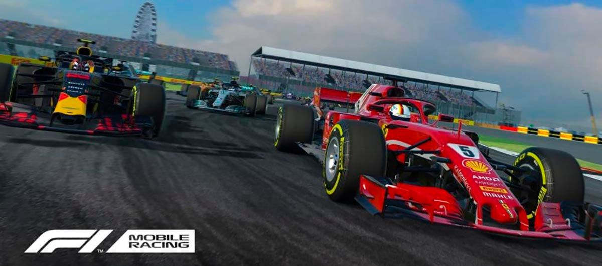 F1 Mobile Racing caracteristicas