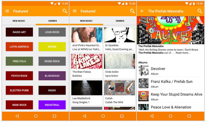 FMA Free Music Archive para Android