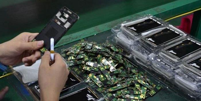 Fabricas moviles China
