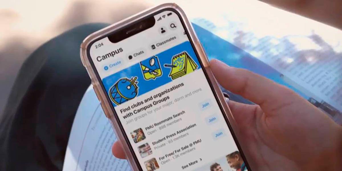 Facebook Campus, la red social vuelve a sus origenes