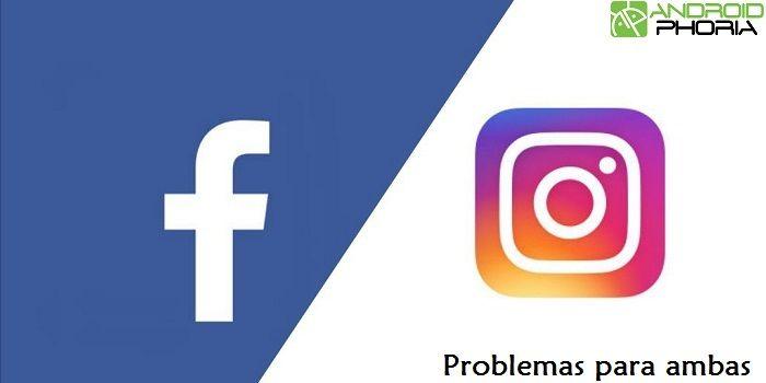 Facebook Instagram problemas