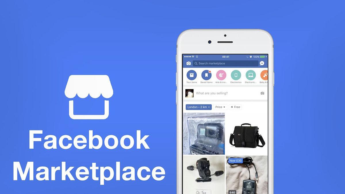 Facebook Marketplace compra y venta de ropa de segunda mano