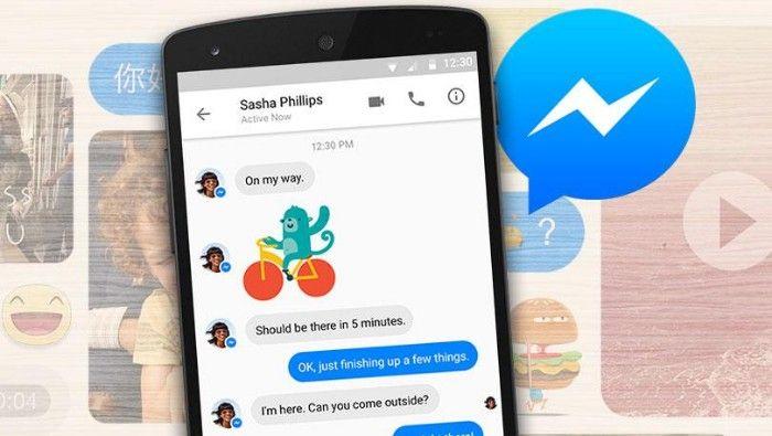Facebook Messenger compartir pantalla nueva funcion