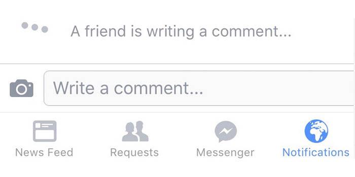 Facebook comentarios en tiempo real