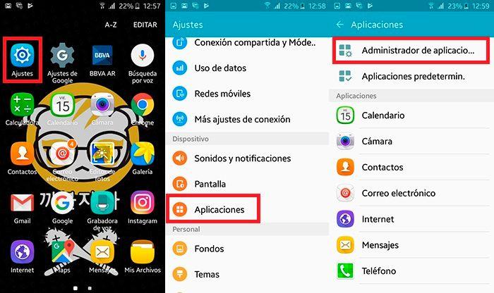 Facebook se ha detenido solucion Android Paso 1