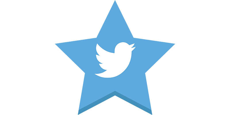 Favoritos de Twitter