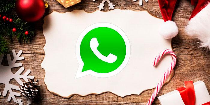 Felicitaciones navidad para WhatsApp