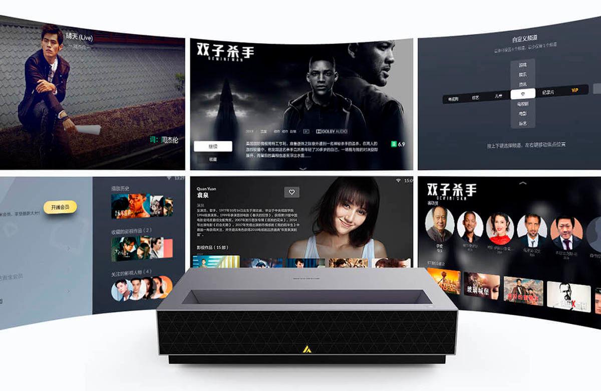 Fengmi 4K Cinema Pro Laser proyector profesional Xiaomi