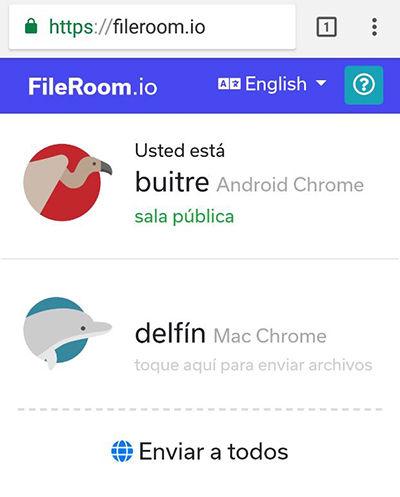 Fileroom-en-Android