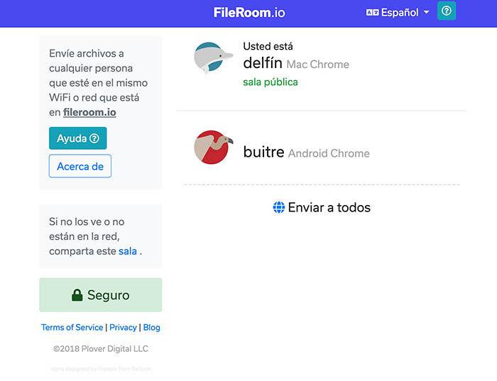Fileroom en OS X