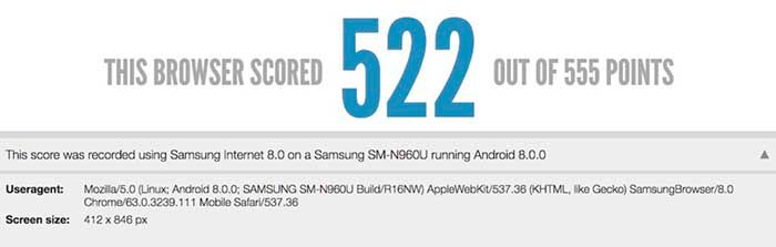 Filtración Galaxy S9
