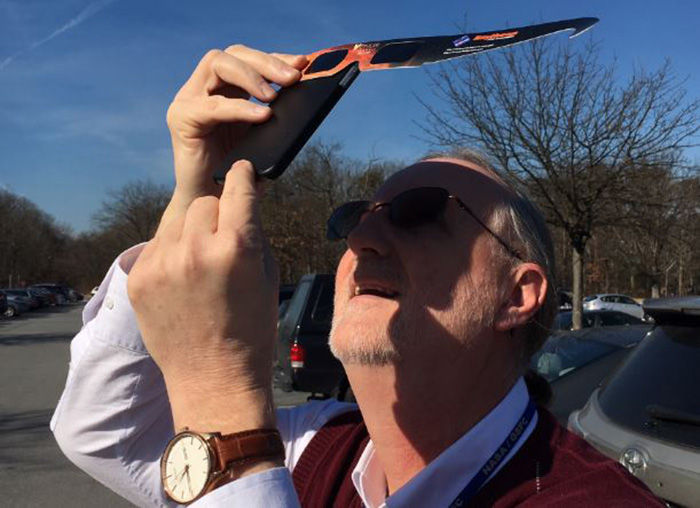 Filtro camara telefono eclipse
