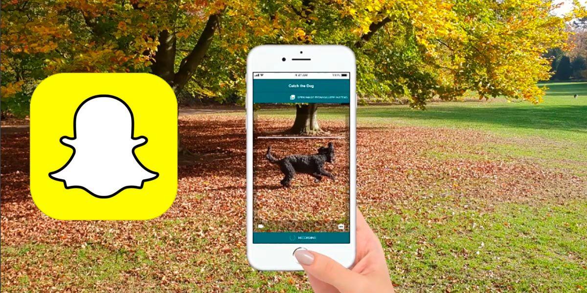 Filtro para saber de que raza es un perro Snapchat