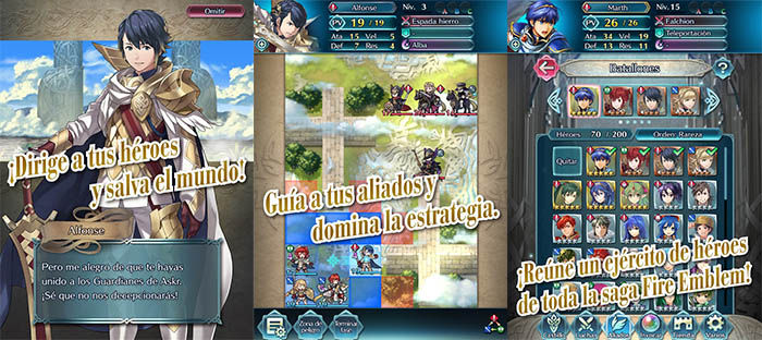 Fire Emblem Heroes Nintendo Android