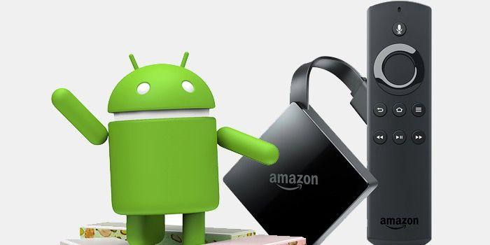 Fire OS 6 de Amazon está basado en Android 7 Nougat