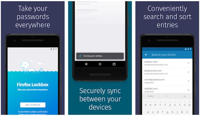 Firefox Lockbox para Android