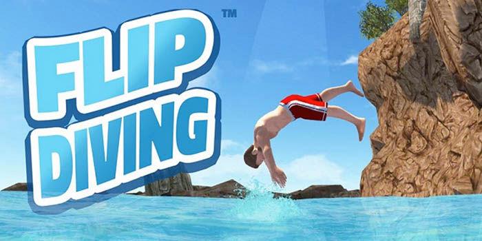 flip-diving