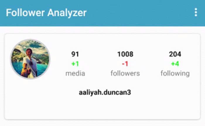 Follower Analyzer
