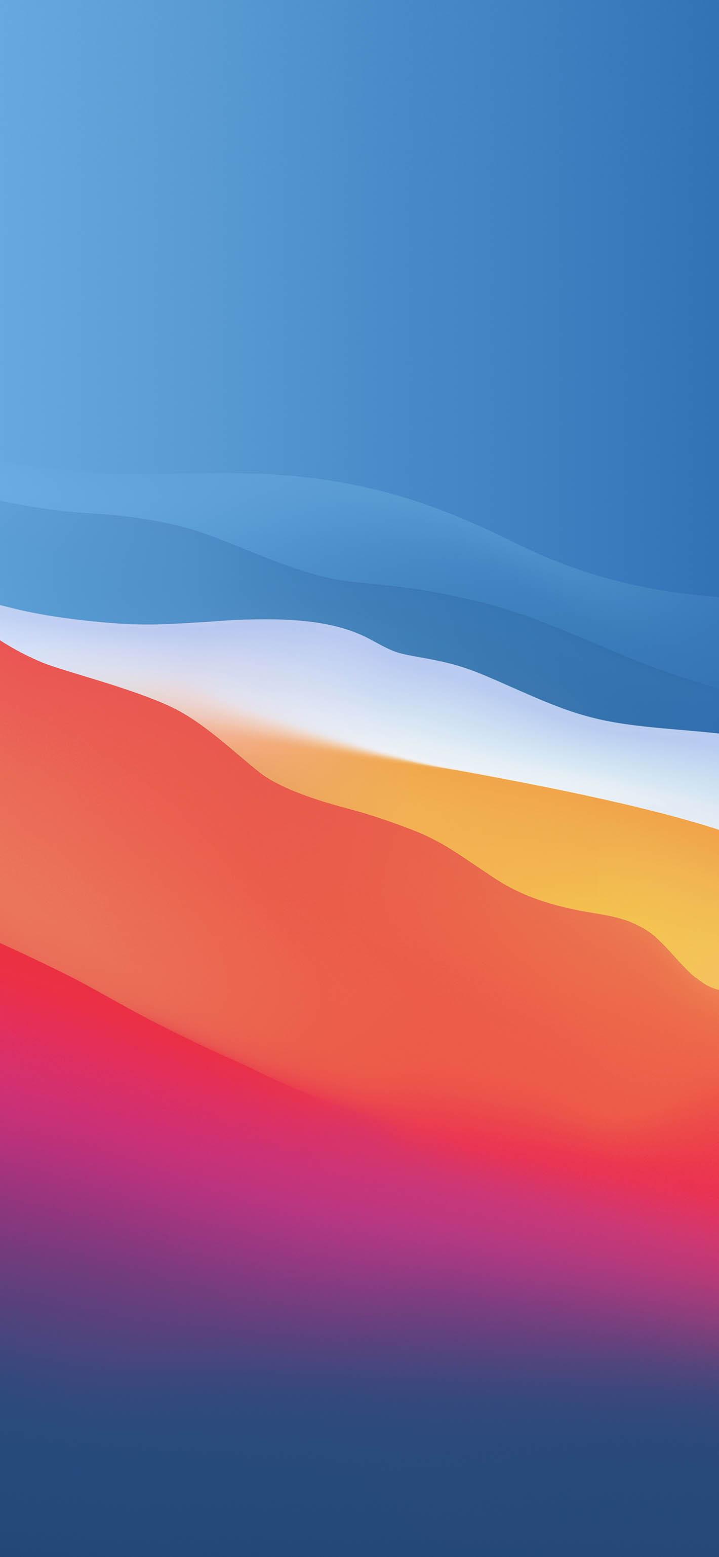 Fondo iOS 14 varios colores