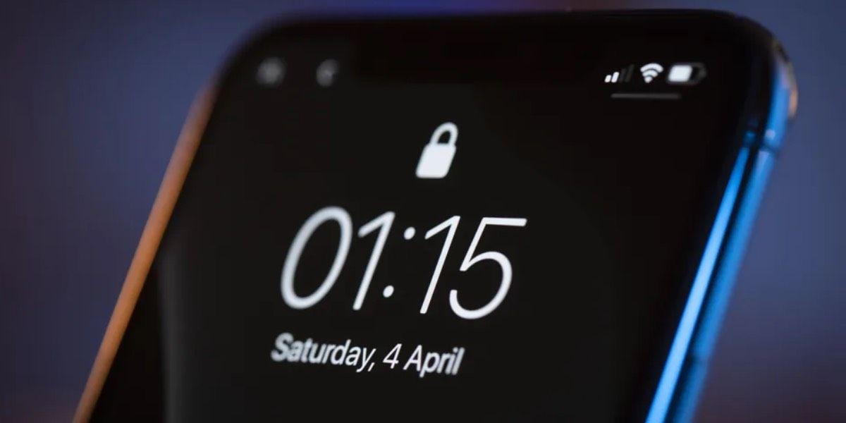 Fondo negro ahorra batería en móvil