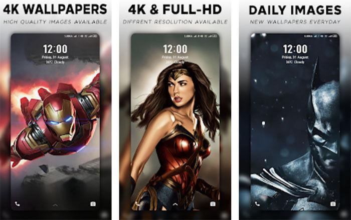 Fondos de pantalla de superheroes para Android
