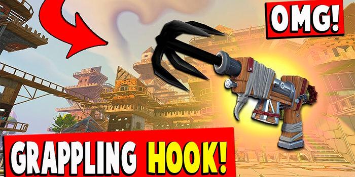 Fortnite Grappling Hook novedades