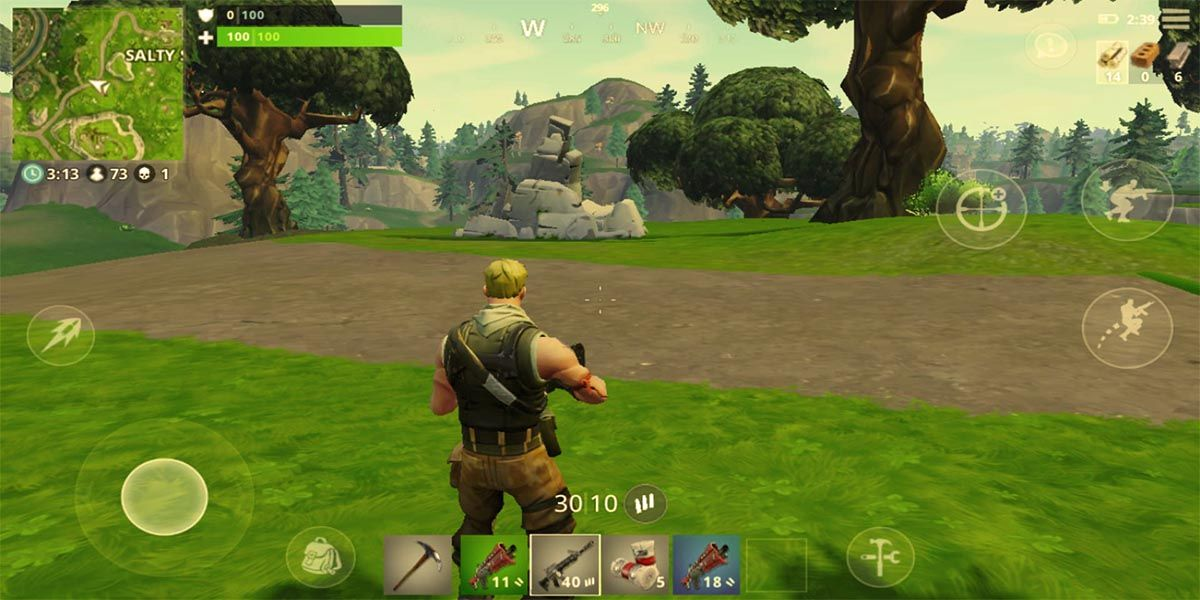 Fortnite Mobile escenario