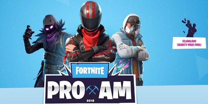 Fortnite Pro-AM torneo cuándo y dónde verlo