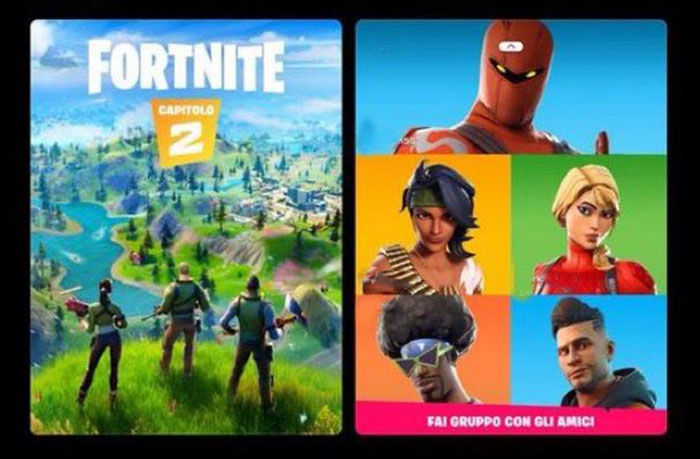 Fortnite capitulo 2 Twiter