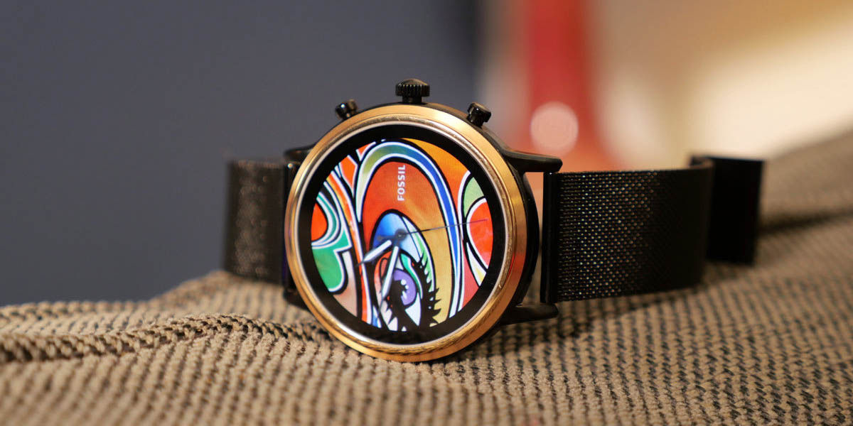 Fossil Julianna HR Gen 5 mejor smartwatch chica wear os