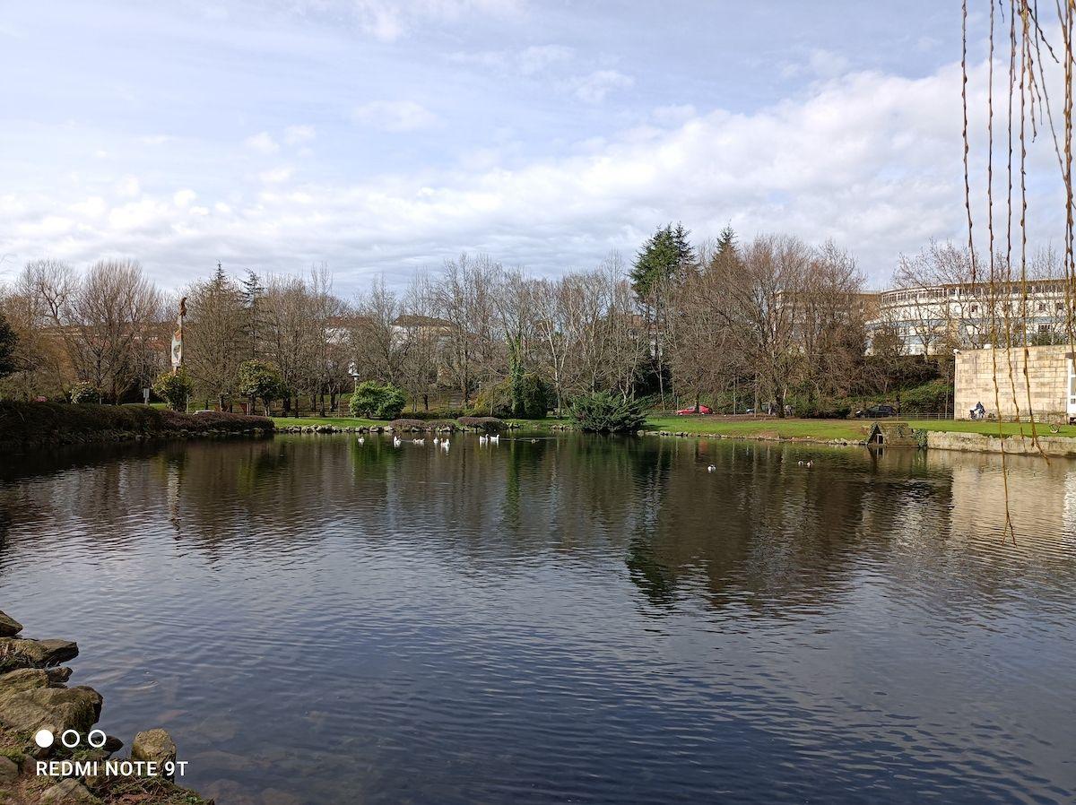 Foto de un lago