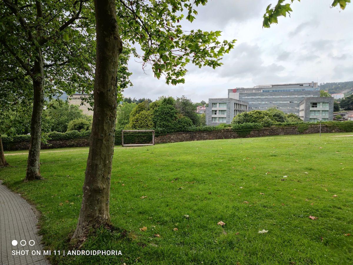Foto de un parque foto sacada con Xiaomi Mi 11