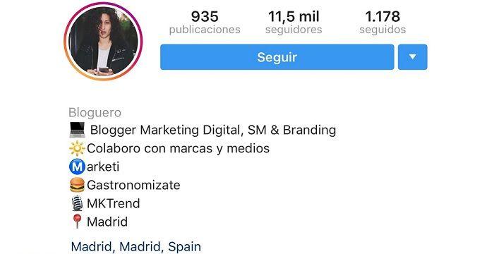 Foto perfil de Instagram