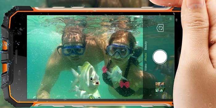 Fotos bajo agua Armor 2S