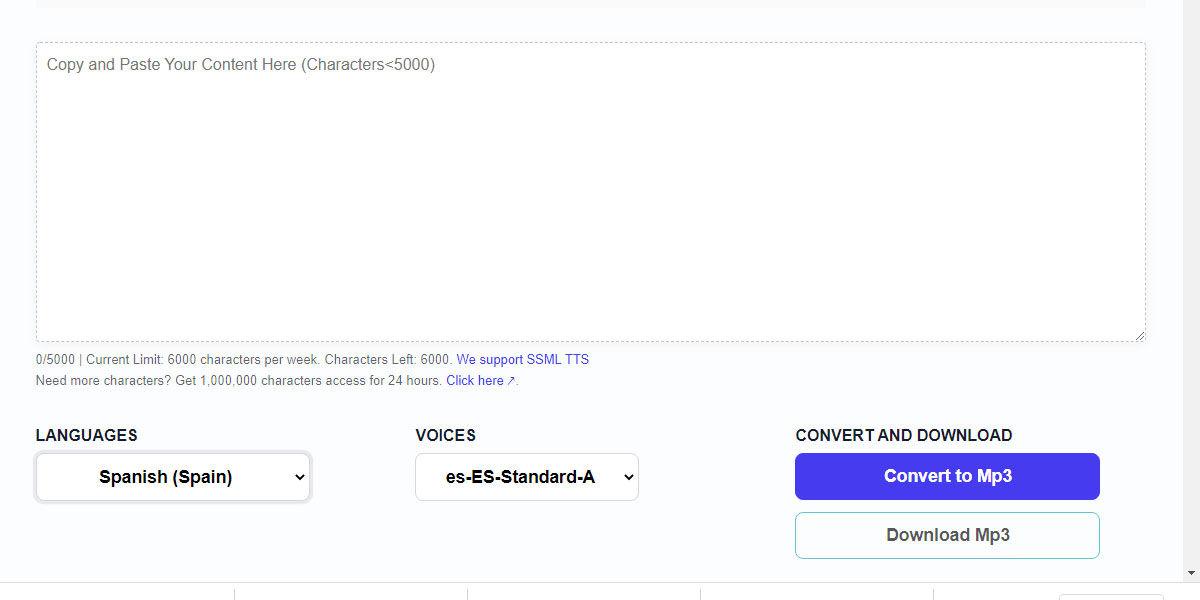 Free TTS, la web para convertir texto en audio como Loquendo totalmente gratuita