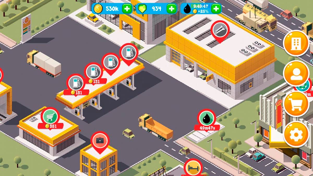 Fuel Inc Gas Station builder sim