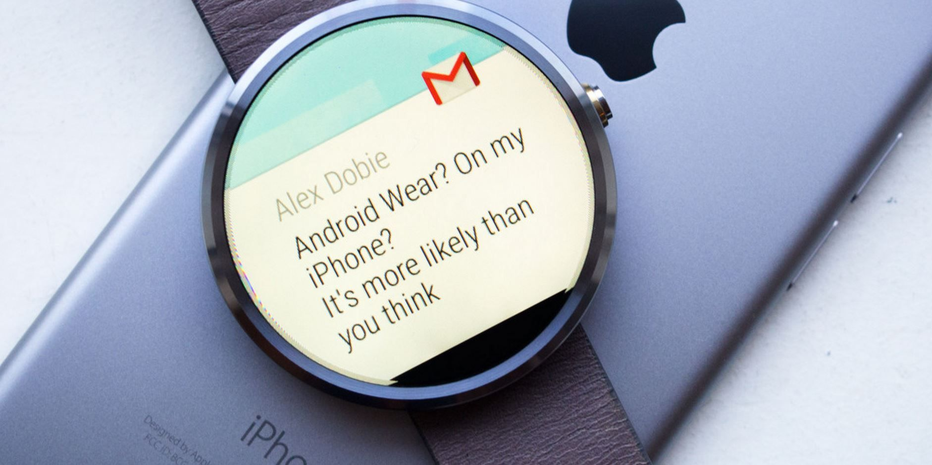 Funcionamiento Android Wear en iPhone