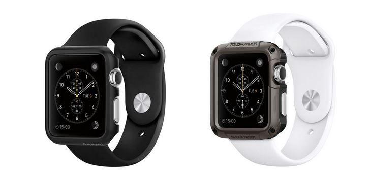 Fundas de Spigen para el Apple Watch