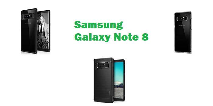 Fundas para el Samsung Galaxy Note 8