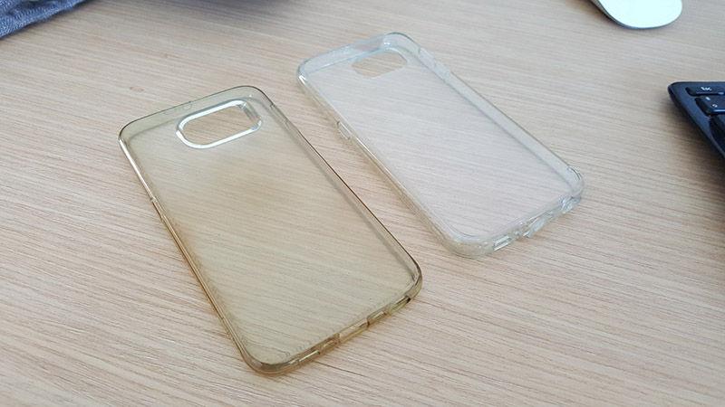 Fundas transparentes Galaxy S6 Spigen y Ringke