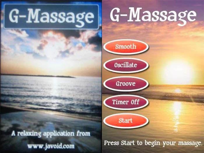G massage capturas
