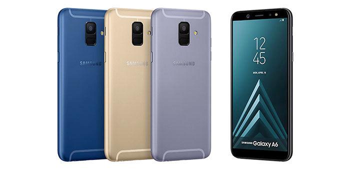 Galaxy A6 2018 Dual SIM