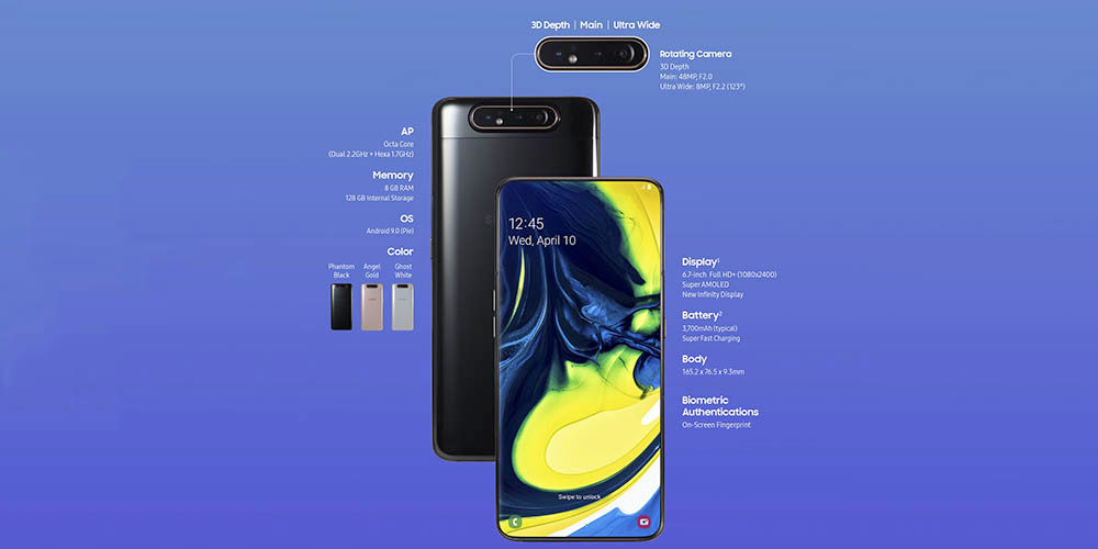 Galaxy A80 especificaciones