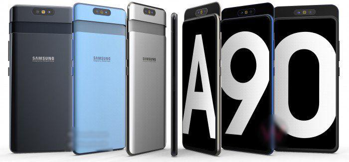 Galaxy A90 precio lanzamiento