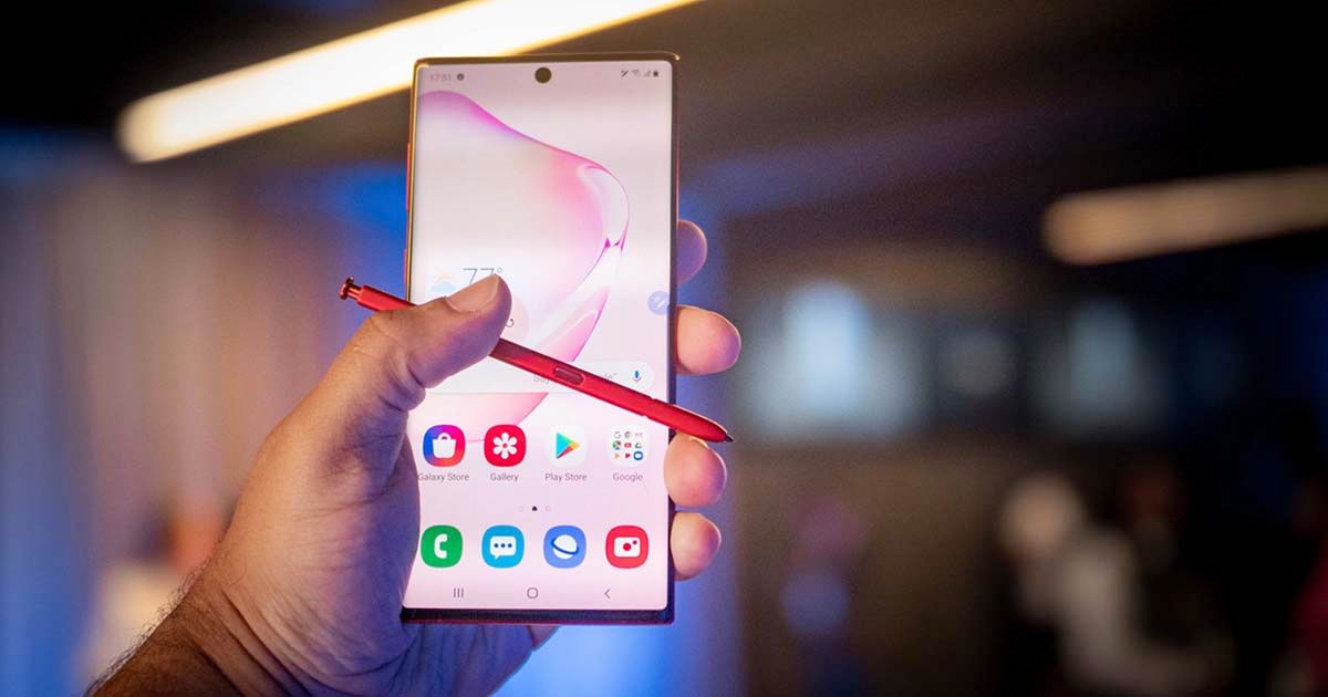 Galaxy Note 10 Plus 60 Hz