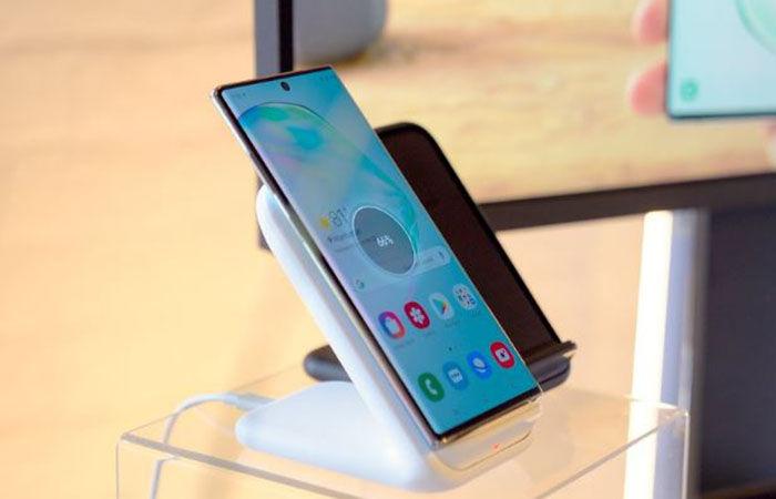 Galaxy Note 10 carga inalambrica