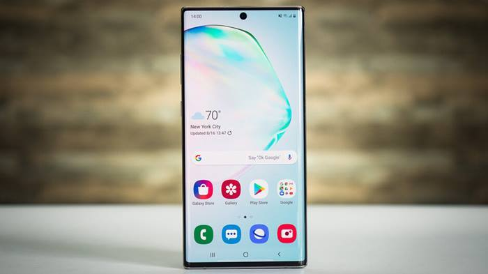 Galaxy Note 10 diseño comparativa
