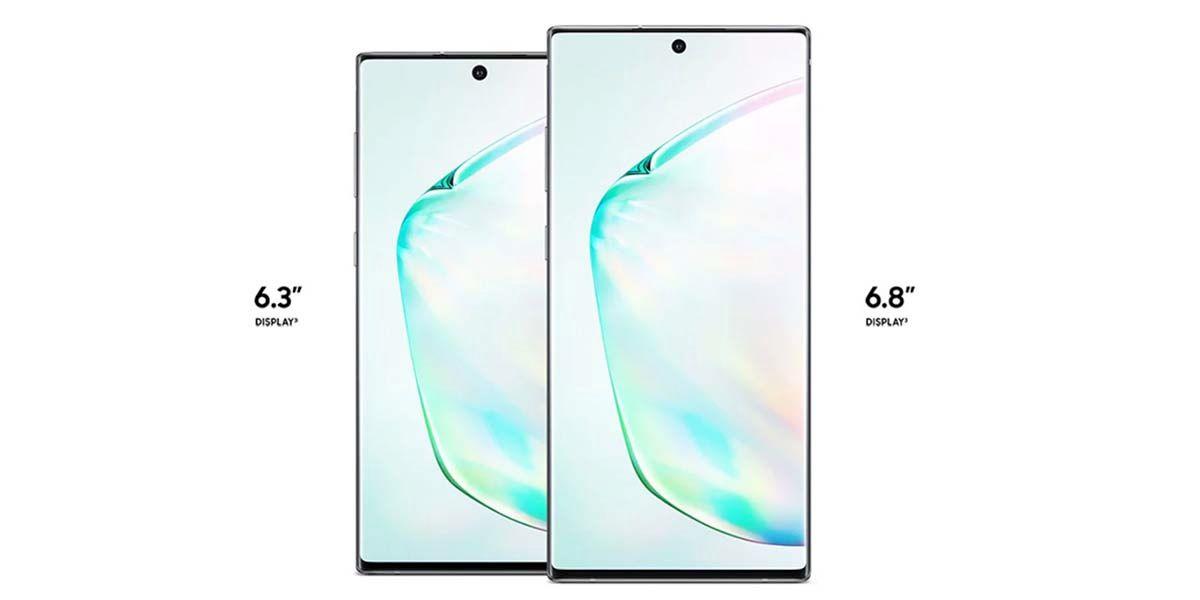Galaxy Note 10 y 10 Plus