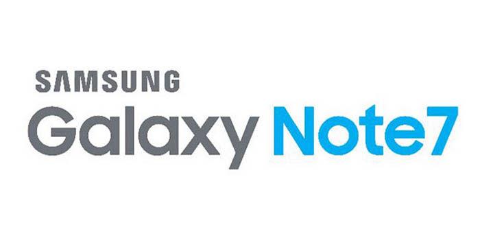 Galaxy Note 7 Logo oficial